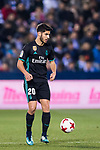Marco Asensio Willemsen of Real Madrid in action during the Copa del Rey 2017-18 match between CD Leganes and Real Madrid at Estadio Municipal Butarque on 18 January 2018 in Leganes, Spain. Photo by Diego Gonzalez / Power Sport Images