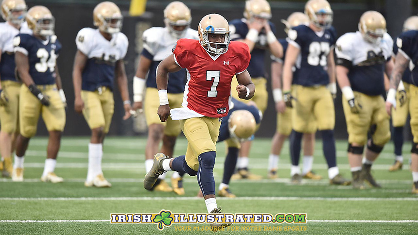 Quarterback Brandon Wimbush (7)