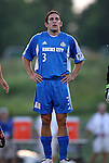 24 August 2004: Nick Garcia before the game. The Kansas City Wizards defeated the San Jose Earthquakes 1-0 at Blue Valley District Athletic Complex in Overland Park, KS in a semifinal game in the 2004 Lamar Hunt U.S. Open Cup..