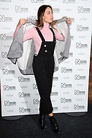 Katya Jones arriving for the Natural History Museum Ice Rink launch party 2017, London, UK. <br /> 25 October  2017<br /> Picture: Steve Vas/Featureflash/SilverHub 0208 004 5359 sales@silverhubmedia.com