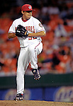 6 June 2007: Washington Nationals pitcher Chad Cordero in action against the Pittsburgh Pirates at RFK Stadium in Washington, DC. The Nationals defeated the Pirates 6-5 in the second game of their 3-game series...Mandatory Credit: Ed Wolfstein Photo