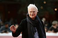 Il regista francese Bertrand Tavernier posa  durante un red carpet della 14^ Festa del Cinema di Roma all'Aufditorium Parco della Musica di Roma, 25 ottobre 2019.<br /> French director Bertrand Tavernier poses on a red carpet during the 14^ Rome Film Fest at Rome's Auditorium, on 25 October 2019.<br /> UPDATE IMAGES PRESS/Isabella Bonotto