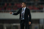 Head coach of Guangzhou Evergrande Fabio Cannavaro gives instructions during Guangzhou Evergrande plays FC Seoul as part of the AFC Champions League Group Stage H at Guangzhou Tianhe Sport Center on 25 February 2015 in Guangzhou, China. Photo by Xaume OIleros / Power Sport Images
