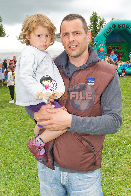Evie and Brian Moonan at the fun day in the Highlands..Picture: Shane Maguire / www.newsfile.ie.
