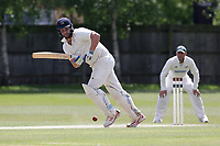 S Smith of Brondesbury during Finchley CC vs Brondesbury CC (batting), ECB National Club Championship Cricket at Arden Field on 12th May 2019