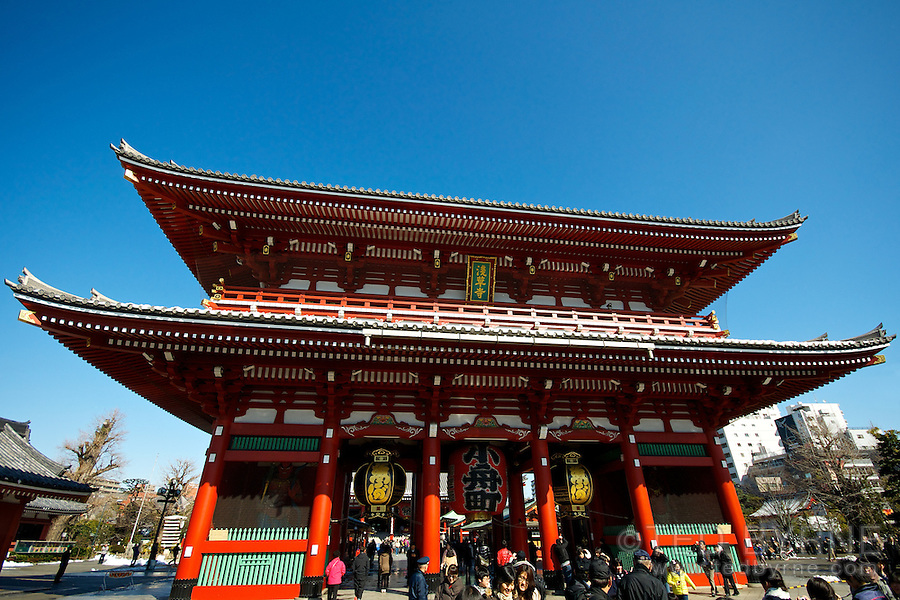 Senso-ji Temple, Taito, Tokyo, Japan