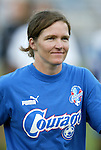 9 August 2003: Hege Riise of Norway. The Carolina Courage tied the Philadelphia Charge 1-1 at SAS Stadium in Cary, NC in the final regular season WUSA game.