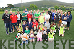 Iveragh United RFC held an open day on Saturday morning last in the Over the Water Sports Centre pictured here some of the clubs future prospects with coaches and Munster Community Dev Officer Ray Gadsden.  Senior Team restarts on 21st Aug, Academy 28th Aug & Underage on the 30th Aug.