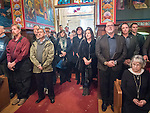 Christmas celebration with the Serbian Orthodox community of Jackson, Calif., St. Sava Church.