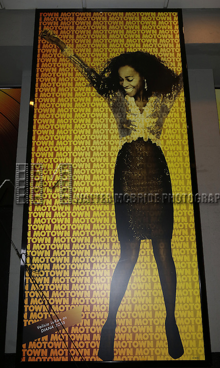 Theatre Marquee: Valisia LeKae as Diana Ross at the Motown Family Night on Broadway at 'Motown: The Musical' at the Lunt Fontanne Theatre in New York City on 4/5/2013