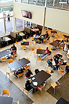 Students sit in the in the Campus Cafe between classes at Georgia Perimeter College's campus in Clarkston, Georgia October 6, 2011.