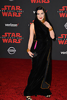 Dita Von Teese at the world premiere for &quot;Star Wars: The Last Jedi&quot; at the Shrine Auditorium. Los Angeles, USA 09 December  2017<br /> Picture: Paul Smith/Featureflash/SilverHub 0208 004 5359 sales@silverhubmedia.com