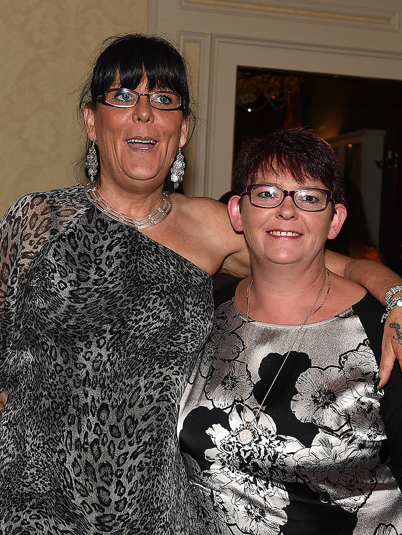 Carol and Bernie Conlon pictured at the white collar boxing in the Westcourt Hotel in aid of Drogheda Animal Rescue. Photo:Colin Bell/pressphotos.ie