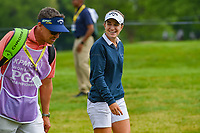 Luna Sobron Galmes (ESP) shares a laugh with her caddie as she heads down 12 during the round 1 of the KPMG Women's PGA Championship, Hazeltine National, Chaska, Minnesota, USA. 6/20/2019.<br /> Picture: Golffile | Ken Murray<br /> <br /> <br /> All photo usage must carry mandatory copyright credit (© Golffile | Ken Murray)