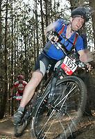 08 APR 2007 - THETFORD, UK - Ben Cornwell - 100km - British Mountain Bike Marathon series Round 1. (PHOTO (C) NIGEL FARROW)