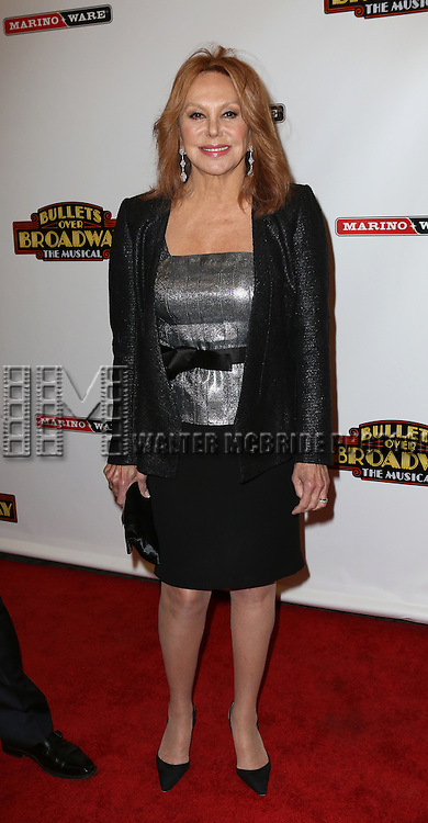 Marlo Thomas attending the Broadway Opening Night Performance of ''Bullets Over Broadway' at the St. James Theatre on April 10, 2014 in New York City.