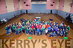 Teams from a round kerry at the Special Olympics  annual Indoor Games in Cumann Iosaef  on Saturday