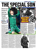 The Mail on Sunday - 01-Dec-2019 - 'THE SPECIAL SON' - Photo by Rob Newell (Camerasport via Getty Images)