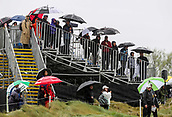 1st October 2017, Windross Farm, Auckland, New Zealand; LPGA McKayson NZ Womens Open, final round;  Wet start to the day