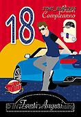 Marcello, CHILDREN BOOKS, BIRTHDAY, GEBURTSTAG, CUMPLEAÑOS, paintings+++++,ITMCEDH1296,#Bi#, EVERYDAY ,age cards
