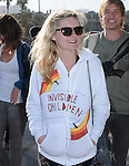 "Kirsten Dunst at The Invisible Children's ""THE RESCUE"" Rally at City Hall in Santa Monica, California on April 25,2009                                                                     Copyright 2009 DVS / RockinExposures"