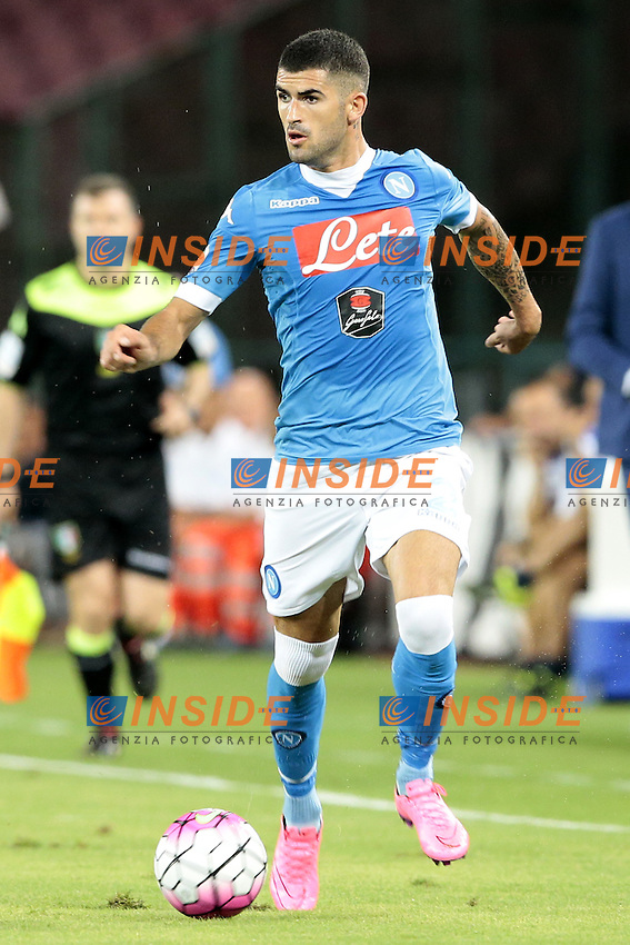 Elseid Hysaj Napoli,  <br /> Napoli 30-08-2015 Stadio San Paolo <br /> Football Calcio Serie A 2015/2016 Napoli - Sampdoria<br /> Foto Cesare Purini / Insidefoto