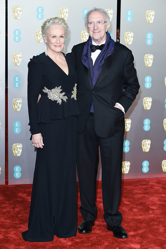 Glenn Close<br /> arriving for the BAFTA Film Awards 2019 at the Royal Albert Hall, London<br /> <br /> ©Ash Knotek  D3478  10/02/2019