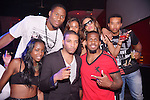 MIAMI BEACH, FL - MAY 04: NFL Cincinnati Bengals (#96 / Defensive end) Carlos Dunlap, Alens Anty and NFL Cincinnati Bengals (#45 / Safety) Jeromy Miles celebrated Darrin Henson and Denyce Lawton birthday at Club Play South Beach on May 4, 2013 in Miami Beach, Florida. (Photo by Johnny Louis/Jlnphotography.com)
