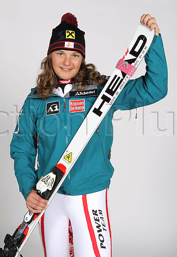 16.10.2010  Winter sports OSV Einkleidung Innsbruck Austria. Ski Alpine OSV Austrian Ski Federation. Picture shows Ramona  AUT