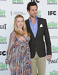 Majandra Delfino AND David Walton<br />  attends The 2014 Film Independent Spirit Awards held at Santa Monica Beach in Santa Monica, California on March 01,2014                                                                               &copy; 2014 Hollywood Press Agency