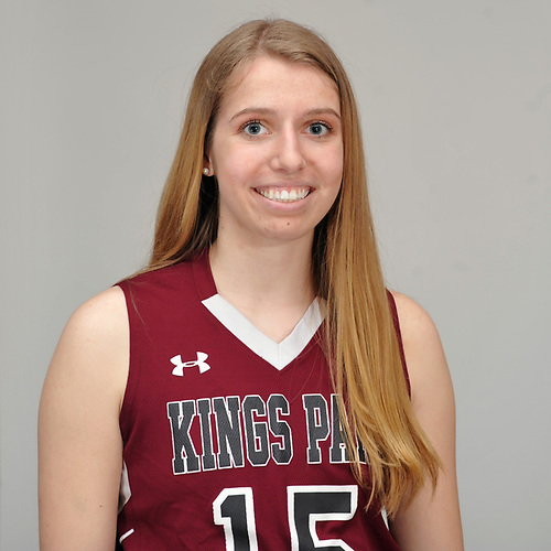 Sam Schultz of Kings Park poses for a portrait during Newsday's All-Long Island girls basketball photo shoot at company headquarters in Melville on Monday, March 26, 2018.