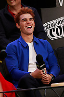 NEW YORK, NY - OCTOBER 7: KJ Apa at  SYFY WIRE's Fangirls: Riverdale Cast Interview at the Jacob Jackets Center at the 2018 New York Comic Con in New York City on October 7, 2018. <br /> CAP/MPI99<br /> &copy;MPI99/Capital Pictures