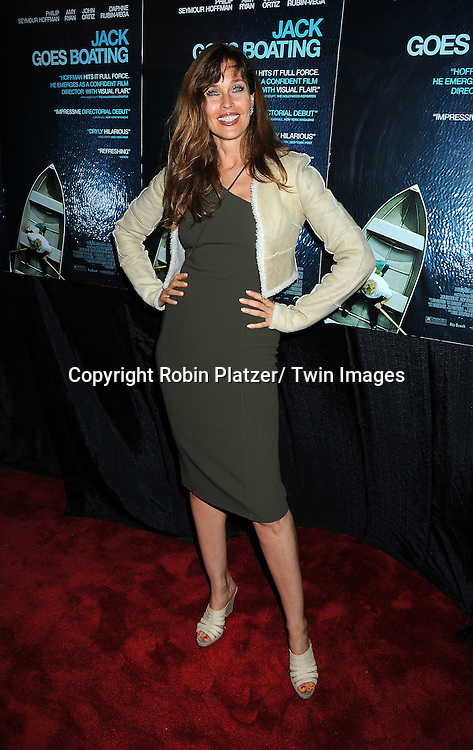 """Carol Alt at the Premiere of """"Jack Goes Boating"""" on September 16, 2010 at The Paris Theatre in New York City."""