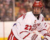 Jakob Forsbacka Karlsson (BU - 23) - The Harvard University Crimson defeated the Boston University Terriers 6-3 (EN) to win the 2017 Beanpot on Monday, February 13, 2017, at TD Garden in Boston, Massachusetts.
