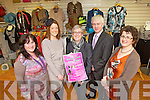 Pictured at the launch of the Fashion Show for Kilmoyley N.S., which will take place in Ballyroe Heights Hotel on the 22nd March, from left: Margaret Stritch (parent), Noreen McElligott, Danny Leane (co-ordinator), Mark Sullivan (Ballyroe Heights Hotel) and Anne Leane (board of management).