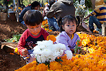 Day of the Dead is celebrated very intensely in the towns and villages around Lake Pátzcuaro. Preparations include major cleaning and repair of the local cemeteries and the creation of flowered arches for gates of the atriums of local churches. Pátzcuaro, Mexico
