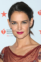 www.acepixs.com<br /> February 9, 2017  New York City<br /> <br /> Katie Holmes attending the American Heart Association's Go Red For Women Red Dress Collection 2017 presented by Macy's at Fashion Week at Hammerstein Ballroom on February 9, 2017 in New York City.<br /> <br /> Credit: Kristin Callahan/ACE Pictures<br /> <br /> <br /> Tel: 646 769 0430<br /> Email: info@acepixs.com