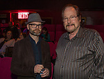 Chad Sweet and Dallas Smith during the Take 5 fundraiser at the Bruka Theatre on Saturday night, Jan. 13, 2018.