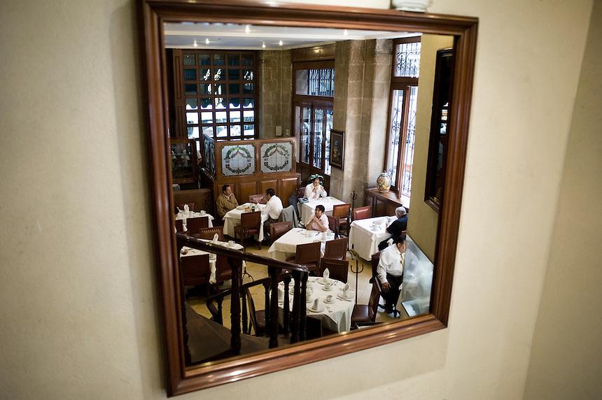 El Cardenal restaurant, historic center. Aromas y Sabores with Chef Patricia Quintana, Mexico City, Mexico