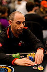 Near the top of the chip lead is PS Team Pro Barry Greenstein