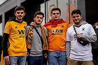 7th March 2020; Molineux Stadium, Wolverhampton, West Midlands, England; English Premier League, Wolverhampton Wanderers versus Brighton and Hove Albion; Wolves fans arriving before the game starts