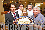 FLAVOURS AND FUN: Getting ready for the launch of the Listowel Food Fair today (Thursday) at 7pm in Behan's Horseshoe Bar and Restaurant from l-r were: Dan Browne, Armel Whyte, Maurice Hannon, Michelle O'Connor and Jerry Behan.