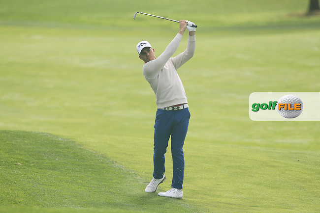 Haydn Porteous (RSA) on the 10th fairway during Round 2 of the D+D Real Czech Masters at the Albatross Golf Resort, Prague, Czech Rep. 02/09/2017<br /> Picture: Golffile | Thos Caffrey<br /> <br /> <br /> All photo usage must carry mandatory copyright credit     (&copy; Golffile | Thos Caffrey)