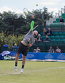 June 11th 2017, Nottingham, England; ATP Aegon Nottingham Open Tennis Tournament day 2;  Big serving Sam Groth of Australia who defeated Finn Bass of Great Britain in two sets