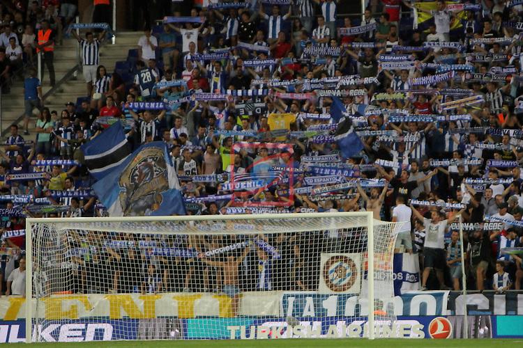 League Santander 2016/2017. Game: 2.<br /> RCD Espanyol vs Malaga CF: 2-2.