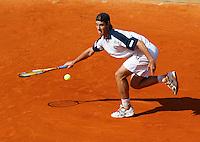 29-5-06,France, Paris, Tennis , Roland Garros, Gasquet in his  first round match