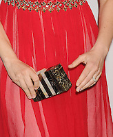 WWW.BLUESTAR-IMAGES.COM   Actress Vera Farmiga (handbag, ring detail) at the premiere party for A&E's Season 2 of 'Bates Motel' and the series premiere of 'Those Who Kill' at Warwick on February 26, 2014 in Los Angeles, California.<br /> Photo: BlueStar Images/OIC jbm1005  +44 (0)208 445 8588