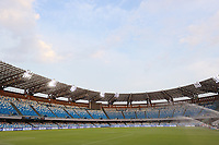 5th July 2020; Stadio San Paolo, Naples, Campania, Italy; Serie A Football, Napoli versus Roma; An empty stadium before kick-off due to the covid-19 pandemic