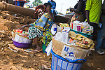 Prudence Plus condoms, distributed by PSI for HIV prevention in Guinea, are sold by mobile retailers at Kilometre 36, 36 kilometers from Conakry.  Kilometre 36 is the junction point of several major routes leading to neighboring countries.  Transport workers are a high-risk group for HIV/AIDS due to the amount of time they spend away from home.