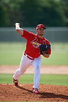 St. Louis Cardinals pitcher Wilberto Rivera (73) during a Minor League Spring Training Intrasquad game on March 28, 2019 at the Roger Dean Stadium Complex in Jupiter, Florida.  (Mike Janes/Four Seam Images)